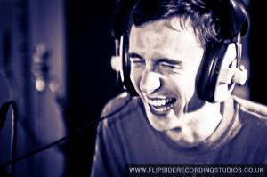 Jeremy Clay in recording studio