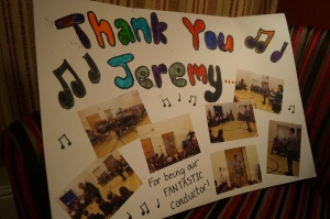 Year 2 Thank you card